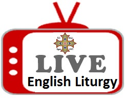 Live streaming english liturgy